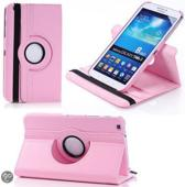 Samsung Galaxy Tab 3 8.0 roterende hoes roze