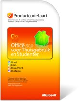 Microsoft Office Home And Student 2010 - Nederlands / 1 Gebruiker/ Download/PKC