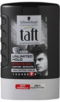 Taft Power Gel Unlimited Hold Flacon - 300 ml - Gel