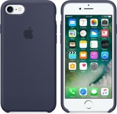 Apple iPhone 7 Silicone Hoes -  Donkerblauw