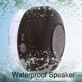 Zwarte Mini waterdichte Wireless Bluetooth Speaker Douche/Bad Mp3 Speaker/Radio - Waterproof