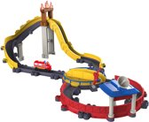 Chuggington Stack Track - Motorized Blussende Wilson Red de Dag Speelset