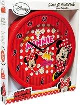 Wandklok Minnie Mouse 3D