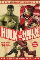Hulk VS Hulkbuster - Poster