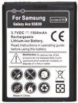 qMust Accu Samsung EB494358VU voor o.a. B5512,Galaxy Gio, Galaxy Ace S5830