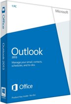 Outlook 2013 32-bit/x64 Dutch 1 LicenseMedialess
