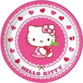 Hello Kitty plates, 8pcs.