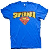 Superman T-shirt heren L