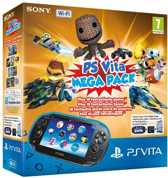 Sony PlayStation Vita Handheld Console WiFi + Mega Pack Download Voucher + 16GB Memory Card - Zwart PS Vita Bundel
