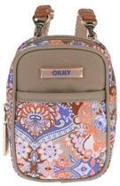 Oilily Summer Mosaic Extra Klein Pouch Fig