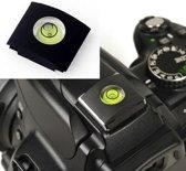Flitsschoen waterpas voor Nikon camera