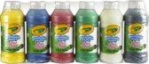 Crayola afwasbare verf - 6 Flessen - 237 ml