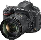 Nikon D750 + 24-120mm - Spiegelreflexcamera  - Zwart