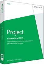Microsoft Project Professional 2013  NL