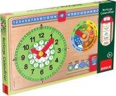 Goula Calender Clock new - Leerklok - Franstalig