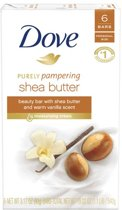 Dove Bar soap Sheabutter 4x100GR 6x