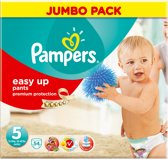 Pampers Easy Up - Maat 5 Jumbo Pack 54 luiers