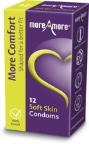 MoreAmore Soft Skin - 12 stuks - Condooms