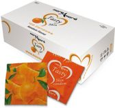 MoreAmore Tasty Skin Mandarijn - 100 stuks - Condooms