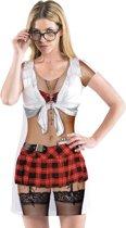 Fotorealistische jurk Schoolgirl (S)
