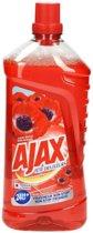Ajax Fête des Fleurs Rode Bloemen - 1 L - Allesreiniger