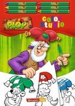 Kleurboek Plop A4: waskrijtjes -