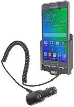Brodit actieve houder roterend met sigarettenplug voor Samsung Galaxy Alpha