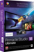 Pinnacle Studio 18 Ultimate - Nederlands/ 1 Gebruiker/ DVD