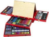 Imaginarium Art Studio Da Vinci - Complete tekendoos -koffer en verfkoffer
