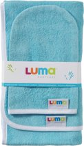 Luma - Commodedoek en Washand - Sky Blue