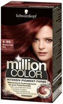 Schwarzkopf Million Color 4-88 - Haarkleuring