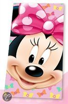 Minnie Mouse Face Badhanddoek