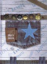 Benza Basic Schoolagenda 2015 - 2016: Jeans