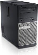 Optiplex 9020 MT/i7-4790 (3.60Ghz 8MB)8GB (2x4GB) 1600MHz/256GB SSD/AMD Radeon R7 250 2GB/DVDR/MUI W7P64/W8.1 DVD/DDP|E/vPro/3Yr Pro NBD/Black