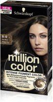 Schwarzkopf Million Color 5-0 - Haarkleuring