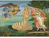 Schilderen op nummer - the birth of venus