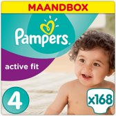 Pampers Active Fit - Maat 4 Maandbox 168 luiers