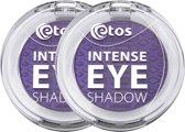 Etos Intense Eyeshadow 002 - Paars - 2 stuks - Oogschaduw