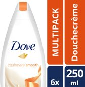 Dove Purely Pampering Natural Caring Oils Women - 250 ml - Douche Gel - 6 stuks - Voordeelverpakking