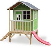 EXIT Loft 300 - Speelhuis met glijbaan - Groen