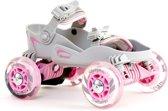 Skorpion - Roller Skates - Skorpies - brede rolschaatsen voor kinderen - schoenmaat 31 t/m 35 - Pink - max belastbaar 45kg