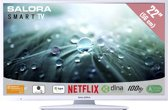 Salora 32LED9115CDW -  LED TV - Smart TV - HD ready - wit