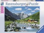 Ravensburger Karwendelgebergte Oostenrijk - Puzzel - 1000 stukjes