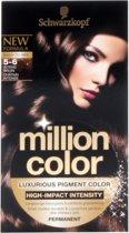 Schwarzkopf Million Color 5-6 - Haarkleuring