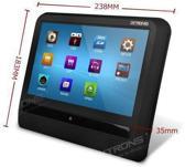 Xtrons HD9S Slim 9 inch scherm en DVD speler, ultra dun