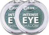 Etos Intense Eyeshadow 003 - Groen - 2 stuks - Oogschaduw