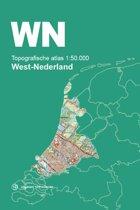 Topografische Atlas Nederland - Topografische Atlas 1:50.000 West-Nederland