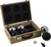 6 Ballen (3 zwart/3 grijs) in Luxe Koffer