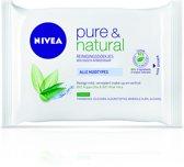 NIVEA  Pure & Natural Reinigingsdoekjes