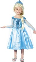 Kinderkostuum Winter princess (3-4 jaar)